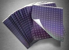 Cheap printable solarpanels and flexible and as thin as a sheet of aluminum.