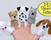 PDF Pattern: Nativity Finger Puppets