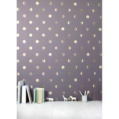 wallpaper moon crescents