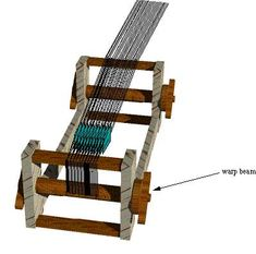 White Wolf and the Phoenix: Warping the Table Loom for Tablet Weaving - FINALLY! Instructions for how to warp my new loom.