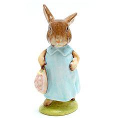 Royal Doulton Beatrix Potter Figurines | ... Potter Figures  Mrs. Flopsy Bunny - Beswick - Beatrix Potter Figurine