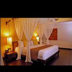Romantic bedroom...