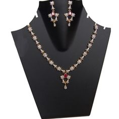 Royal Red Stone Necklace