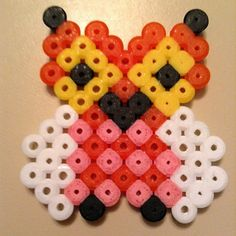 Owl hama beads by lissisthis