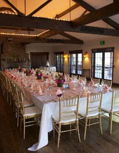 Wedding reception at Mary's Lake Lodge in Estes Park by Vows, Estes Park - Country Chic with Vintage Accents