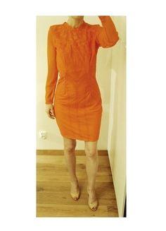 Kup mój przedmiot na #vintedpl http://www.vinted.pl/damska-odziez/krotkie-sukienki/13379244-sukienka-neonowa-fluo-pomarancz-czerwona-oranz-siateczka-tiul-vila-36