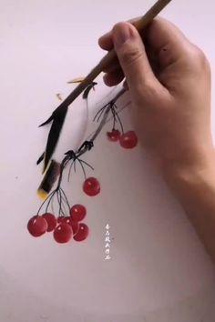 Japanese Painting, Chinese Painting, Chinese Art, Japanese Art, One Stroke Painting, Watercolour Painting, Watercolor Paintings For Sale, Art Drawings Sketches Simple, Bird Prints