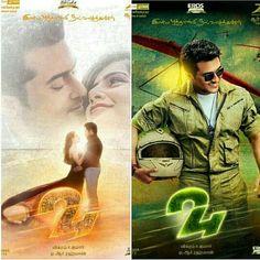 #24theMovie 2nd look posters!!  #suriya #surya #samantha #24TheMovie #24movie