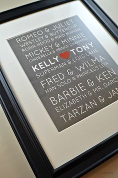 How to make  a Great Loves Print - My Sweet Sanity