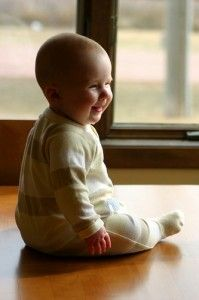 teach your baby to sit