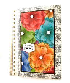 Faber Castel art journal page, wow