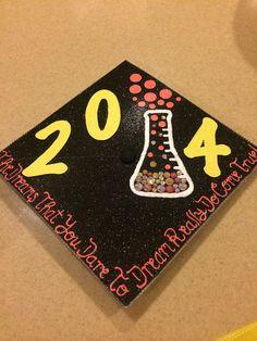 Graduation cap - chemistry 2014