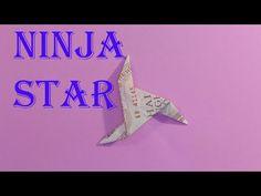 (1) dollar origami ninja star 3 point gấp phi tiêu 3 cánh = tiền | gấp giấy origami - YouTube Dollar Origami, Origami 3d, Money Origami, Origami Easy, Origami Pokemon, Origami Youtube, Ninja Star, Totoro, Minion
