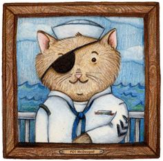 Cat sailor - Gina Perry