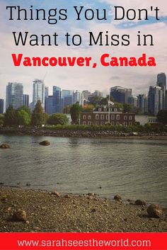 Vancouver is a beautiful city in Canada. There are so many things to see and do in Vancouver, so we thought we would help you out with this handy Vancouver guide. Click here to check out where to stay in Vancouver, where to eat in Vancouver, and things you need to see and do during your stay. Don't forget to save this to your travel board!