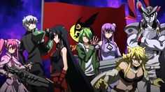 Akame Ga Kill Opening 2 - Every time I find this opening, it get's deleted. This is the music only.