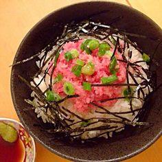 簡単ネギトロ丼☻ - 6件のもぐもぐ - ネギトロ丼 by akinoichiUFL