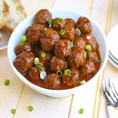 Spanish-style Meatballs are full-flavored thanks to chorizo, spices, and cherry preserves. They make a great appetizer.
