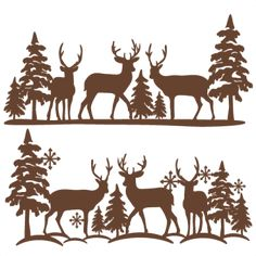 Winter Reindeer Scene SVG scrapbook cut file cute clipart files for silhouette c. - Plotter - Winter Reindeer Scene SVG scrapbook cut file cute clipart files for silhouette cricut pazzles free - Cricut Christmas Ideas, Christmas Stencils, Christmas Svg, Christmas Projects, Holiday Crafts, Christmas Decorations, Xmas, Christmas Tables, Nordic Christmas