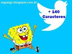 Twitter: Libera Mais de 140 Caracteres http://sigasigo.blogspot.com.br/2015/08/twitter-libera-mais-de-140-caracteres.html Hoje, 12 de agosto de 2015, a rede social Twitter libera o uso de mais de 140 caracteres em suas mensagens diretas - DMs, com o objetivo de oferecer cara nova aos usuários. #twittermais140caracteres