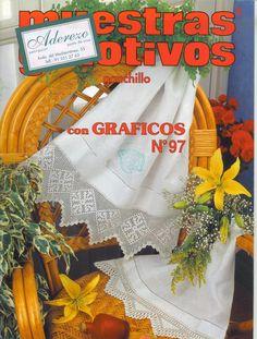 Muestras y Motivos ganchillo №97 ----szal dla Ru---
