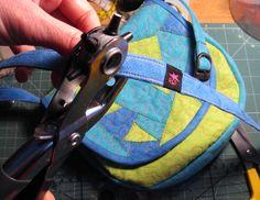 new smal cross-body bag named Soča, like beautiful slovenian river handmade by #kreatura