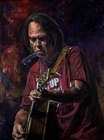Neil Young by stanleysilver.deviantart.com on @DeviantArt Play Mate, Long Stories, Neil Young, Crazy Horse, Medium Art, Ol, Painting & Drawing, Guitars, Buffalo