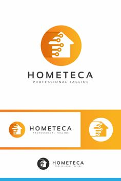 Home Tech Logo: multifunctional logo that can be used in technological companies, in companies and applications for software development, construction Data Logo, Home Tech, Tech Logos, Software Development, Multifunctional, Logo Templates, Company Logo, Construction, Ads