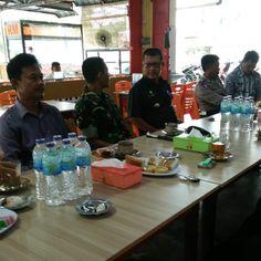 Danyonkav 12/BC Silahturahmi Dengan Tokoh Masyarakat Kecamatan Siantan