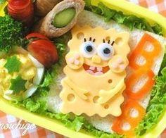 cute, food, kitchen table, spongebob, spongebob squarepants - inspiring picture on Favim.com