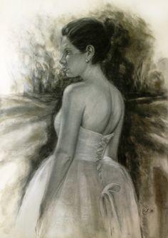 """Kati"" 42x60 cm / Pastel / 2014"