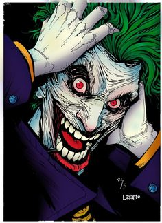 lots of fun drawing this crazy maniac! if you want to share any advice or constructive criticism will always welcome! thank you very much in advance Joker colors by me! Joker Images, Joker Pics, Joker Comic, Joker Art, Héros Dc Comics, Joker Drawings, Heath Ledger Joker, Joker Wallpapers, Batman Universe