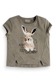 Buy Khaki Bunny T-Shirt (3-16yrs) from the Next UK online shop