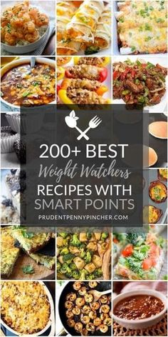 200 Best Weight Watchers Meals with Smart Points This is the ULTIMATE collection of the best weight watcher meals to help you eat healthy and lose weight. You won't ever need to look for weight watchers recipes again with two hundred of the Plats Weight Watchers, Weight Watchers Diet, Weight Watcher Dinners, Weight Loss Meals, Weight Watchers Lunches, Weight Watchers Recipes With Smartpoints, Weightwatchers Recipes, Weight Watchers Recipes With Points Vegetarian, Weight Watcher Smart Point Meals