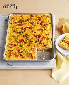 Bacon and Egg Squares #recipe