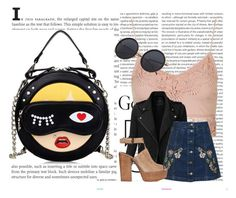 Без названия #3 by dn-starostin on Polyvore featuring мода, Topshop, LE3NO, Rebecca Minkoff and Oris