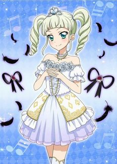 Princess of all white! Yurika-sama!