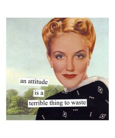 It's terrible to waste