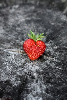 {the most perfect strawberry ever.}