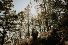 Check out this scenic engagement shoot by Efjay Deleon Photography! Engagement Shoots, Wedding Blog, Philippines, Woods, Explore, Adventure, Couple Photos, Nature, Photography
