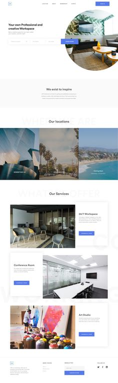 CW - Redesigned Landing Page