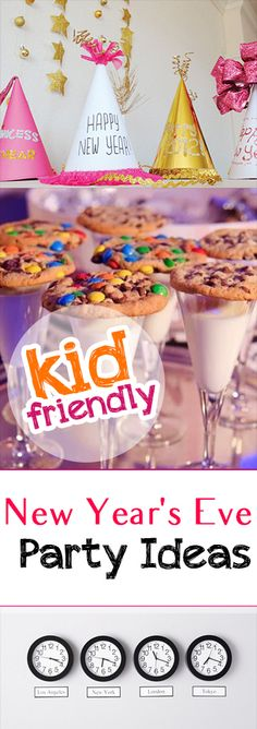Clever kid-friendly New Years Eve party ideas