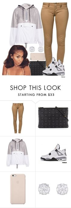 """This Is Cute '"" by goddessnaii ❤ liked on Polyvore featuring Monkee Genes, MCM, Pull&Bear, Retrò and Black Apple"