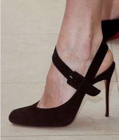 Black heels. A classic.