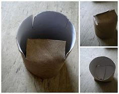 I think I already pinned this but it is worth pinning twice. Starter pots recycled from toilet paper tubes!