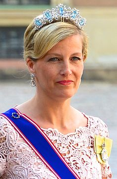 HRH The Countess of Wessex, daughter-in-law of the Queen.