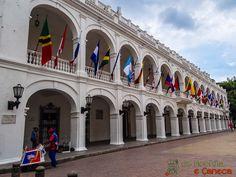 Palácio de Gobierno de Cartagena.