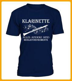 Klarinette Alles andere sind Begleitinstrumente TShirt Hoodie - Karneval fasching shirts (*Partner-Link)