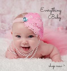 WEBSITE lots of bow stuff and girly stuff. Has headbands (single and by the dozen)