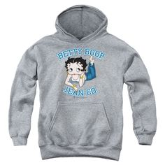 Betty Boop: Jean Co Youth Hoodie